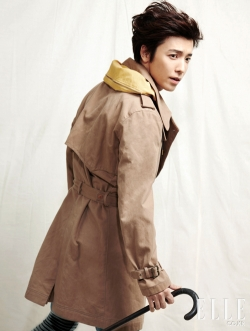 Super Junior's Donghae для Elle Korea January 2011