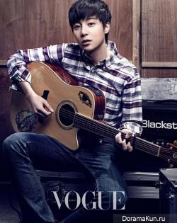 Superstar K4 для Vogue January 2013