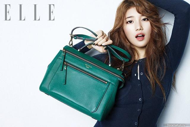 Suzy (Miss A) для Elle Korea September 2013 Extra