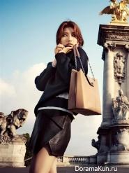 Suzy (Miss A) для Harpers' Bazaar August 2013 Extra