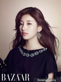 Suzy (Miss A) для Harpers' Bazaar September 2013