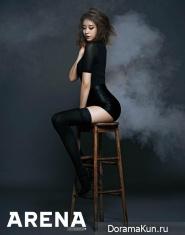 T-Ara (Ji Yeon) для Arena Homme Plus May 2014