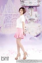 T-Ara (Eun Jung) для BNT International June 2014
