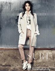 T-Ara (Hyo Min) для SURE February 2014