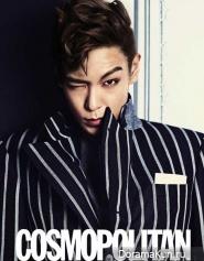 T.O.P. (Big Bang) для Cosmopolitan Korea 2012