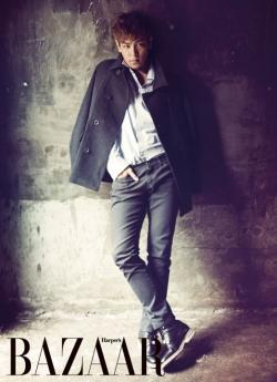 T.O.P для Harper's Bazaar Korea December 2011