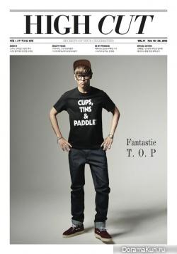 T.O.P. для High Cut, Vol. 71 2012