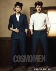 TVXQ для Cosmopolitan September 2012