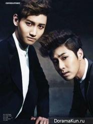 TVXQ для Esquire Korea December 2012