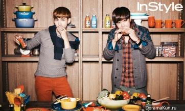 TVXQ для InStyle November 2012