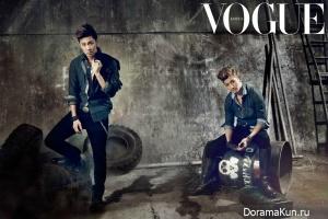 TVXQ для Vogue October 2012