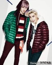 Teen Top для Arena Homme Plus October 2013