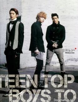 Teen Top для CéCi February 2012