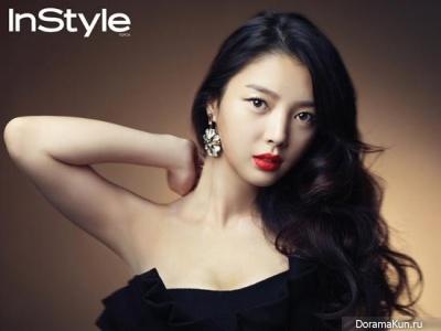 Uhm Hyun Kyung для InStyle November 2012