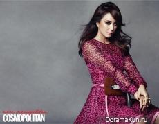 Uhm Jung Hwa для Cosmopolitan Korea June 2013