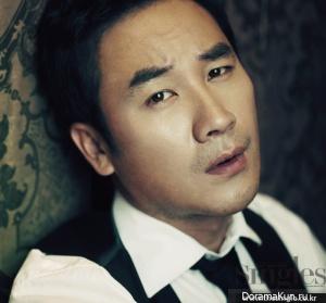 Uhm Tae Woong для Singles December 2011
