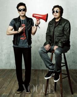Uhm Tae Woong, Lee Yong Ju для Vogue Korea April 2012