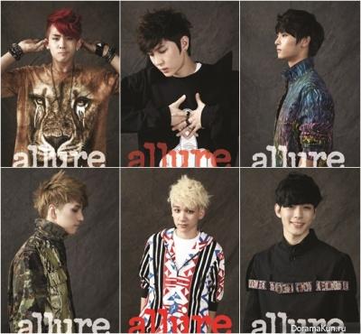VIXX для Allure Magazine 2012