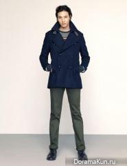 Won Bin, Kang So Ra для Basic House Winter 2012 Ads