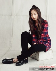 Wonder Girls' Sohee для Cosmopolitan September 2012