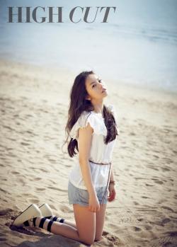 Wonder Girls' Sohee для High Cut Vol. 76