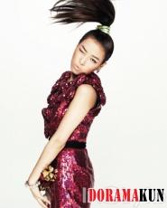 Yubin (Wonder Girls) для InStyle August 2012