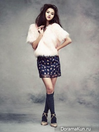 Woo Ri, Kim Shi Hoo для CeCi November 2013 Extra