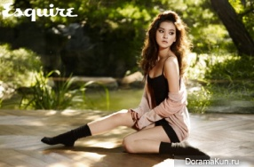 Woo Ri для Esquire October 2012