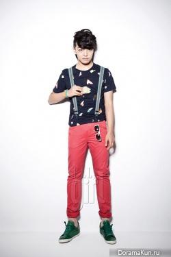 Yeo Jin Goo для Elle Girl 2012
