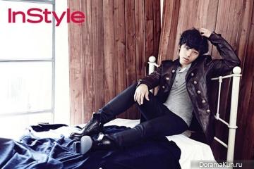 Yeo Jin Goo для InStyle Korea November 2013
