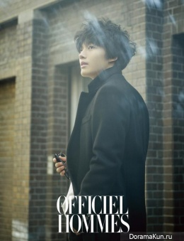 Yeo Jin Goo для L'Officiel Hommes December 2013