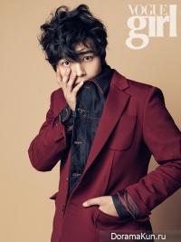 Yeo Jin Goo для Vogue Girl Korea November 2013