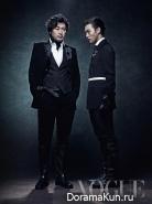 Yeo Jin Goo, Kim Yun Seok для Vogue Korea September 2013