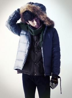 Yoo Ah In для Hazzys Winter 2010