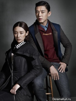 Yoo Ah In для JACK & JILL Winter 2013