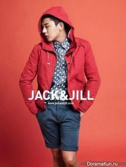Yoo Ah In для Jack & Jill Spring 2013 Ads