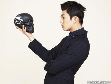 Yoo Ah In для The Class F/W 2013 Ads