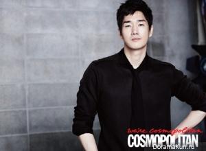 Yoo Ji Tae для Cosmopolitan September 2012