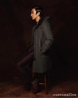 Yoo Seung Ho для Customellow Fall 2011 Catalogue
