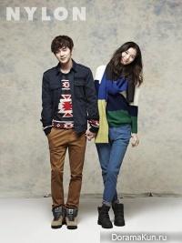 Yoo Seung Ho для Nylon January 2013