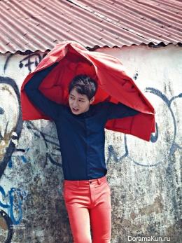 Yoochun (JYJ) для Singles July 2014 Extra