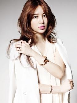 Yoon Eun Hye для Cartier Ad Campaign