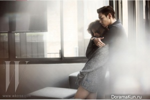 Yoon Eun Hye, T.O.P. (Big Bang) для W Korea 2011