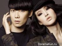 Yoon Han, Yoo Ji Ahn для Grazia February 2014