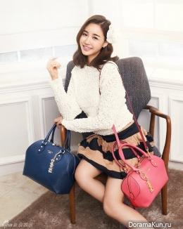 Yoon Jin Yi для LOVCAT 2013 Ads