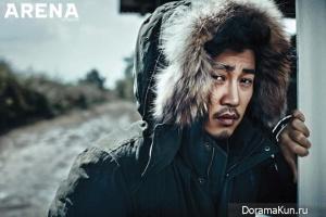 Yoon Kye Sang, Lee Da Hee для Arena Homme November 2013