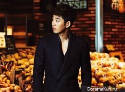 Yoon Kye Sang для Cosmopolitan September 2012