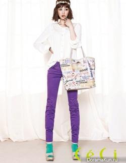 Yoon Seung Ah для CéCi April 2012