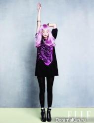 Yoon Seung Ah для Elle January 2013 Extra
