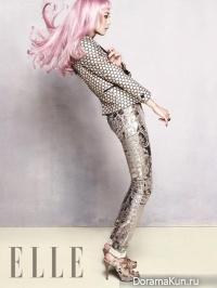 Yoon Seung Ah для Elle January 2013